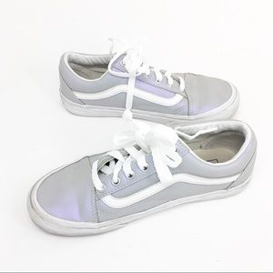 VANS Ward Old Skool Iridescent Sneakers Trainers
